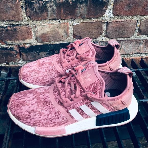 adidas Shoes   Nmd R1 Raw Pink Glitch
